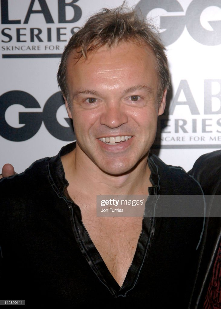 Graham Norton during GQ Men of the Year Awards - Inside Arrivals at Royal Opera House in London, Great Britain.