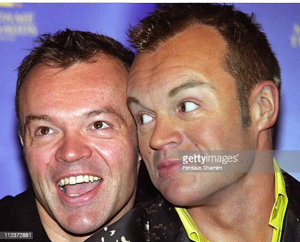 Graham Norton during Graham Norton Launches His Wax Double at Madame Tussauds at Madame Tussauds in London Great Britain