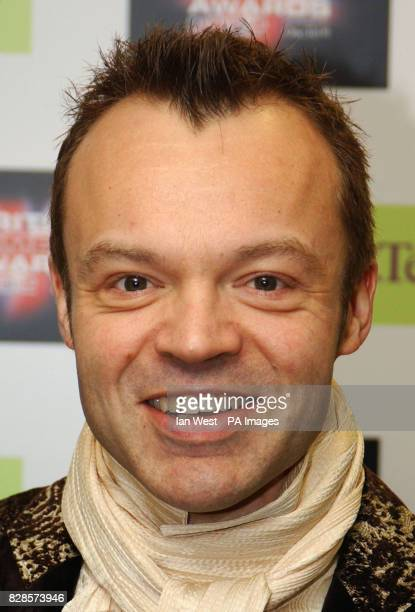 Graham Norton during the British Comedy Awards 2002 at London Weekend Television Studios in London * The annual awards ceremony hosted by TV...