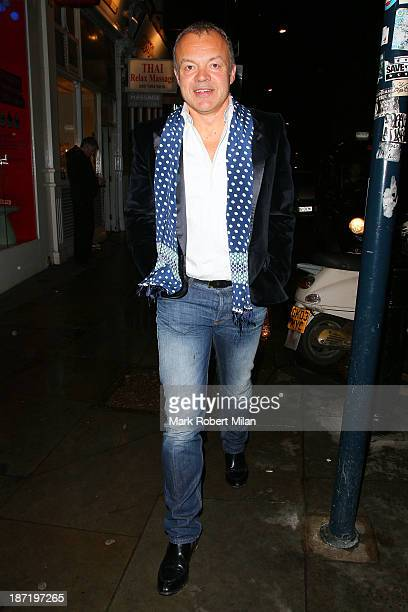 Graham Norton sighting in Soho on November 6 2013 in London England