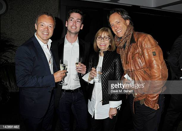 Graham Norton Trevor Patterson Joan Washington and Richard E Grant attend an after party celebrating the press night performance of the Sydney...