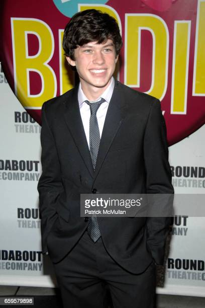 Graham Phillips attends BYE BYE BIRDIE Opening Night Arrivals at The Henry Miller's Theatre on October 15 2009 in New York City