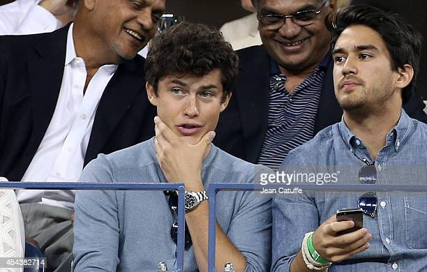 Graham Phillips attends Day 5 of the 2014 US Open at USTA Billie Jean King National Tennis Center on August 29 2014 in the Flushing neighborhood of...