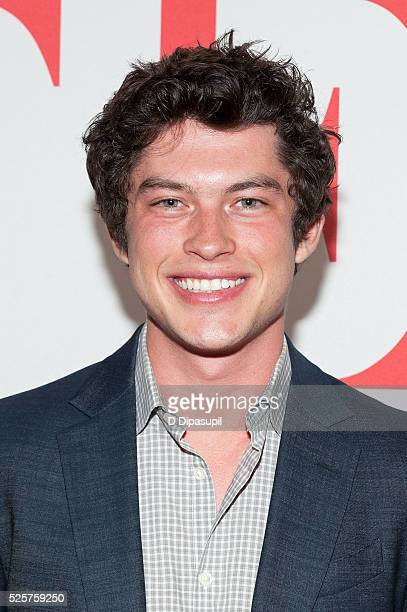 Graham Phillips attends 'The Good Wife' Finale Party at the Museum of Modern Art on April 28 2016 in New York City