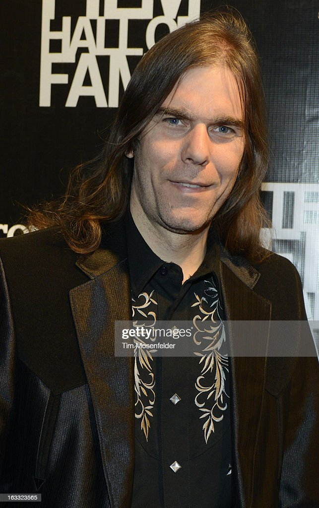 Graham Reynolds poses at the Texas Film Hall of Fame Awards at Austin Studios on March 7, 2013 in Austin, Texas.