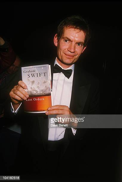 Graham Swift At The 1996 Booker Prize Ceremony In Guildhall London