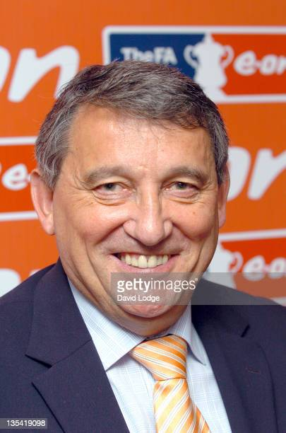 Graham Taylor during FA Cup Legends Lunch Departures at Savoy in London Great Britain