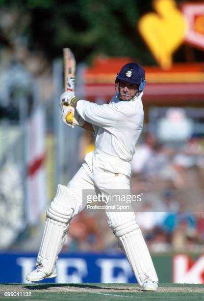 Graham Thorpe batting for England during his innings of 123 in the 5th Test match between Australia and England at the WACA Perth Australia 4th...