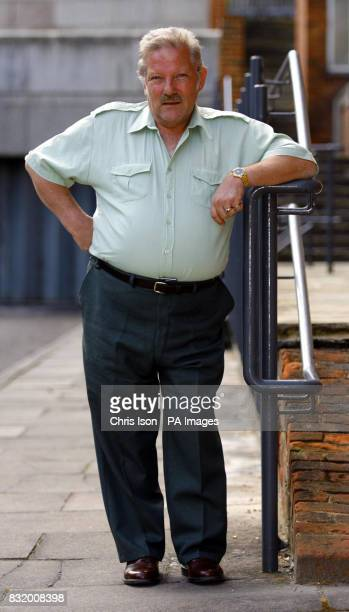Graham Tilbury from Petersfield in Hampshire a caretaker from Bedales School who was wrongly branded an armed robber by a criminal records mistake...