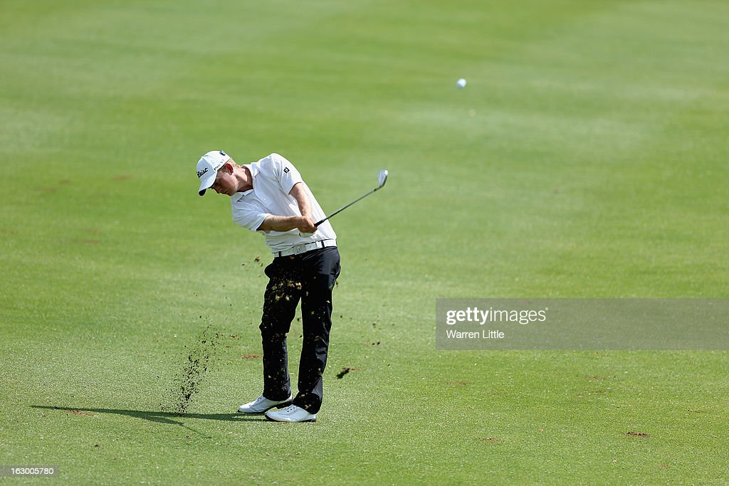 Graham Van Der Merwe of South Africa in action during the final round of the Tshwane Open at Copperleaf Golf & Country Estate on March 3, 2013 in Centurion, South Africa.