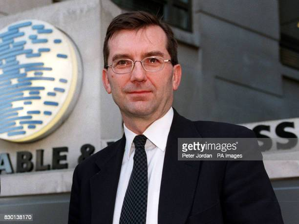 Graham Wallace the newly appointed Chief Executive of Cable and Wireless plc at the company's offices in London * 6/8/99 Cable and Wireless have sold...