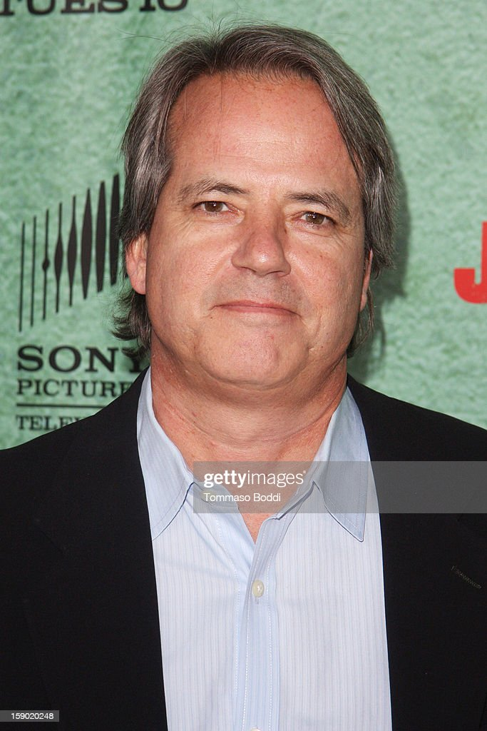Graham Yost attends the FX's 'Justified' season 4 premiere held at Paramount Theater on the Paramount Studios lot on January 5, 2013 in Hollywood, California.
