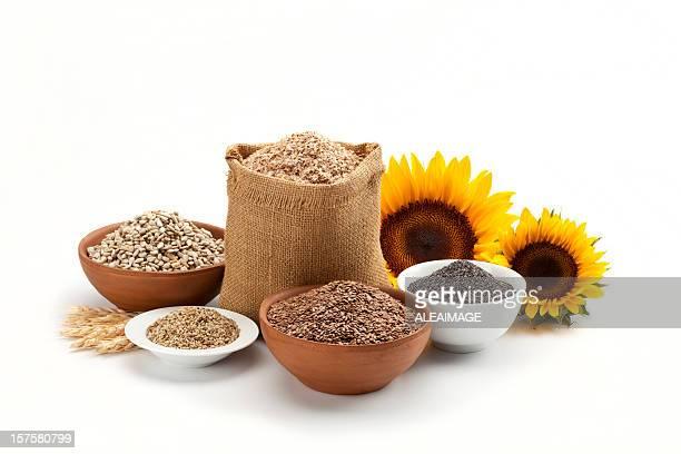 Getreide und Getreide Komposition
