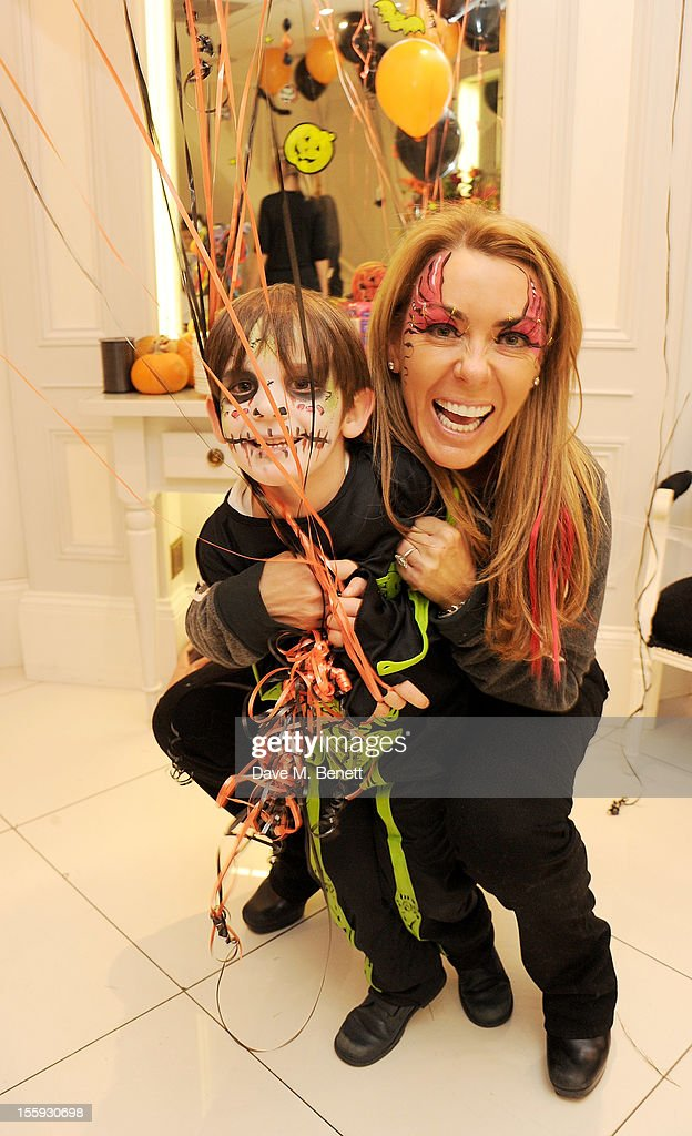 Grainne Stevenson (R) attends the launch of Dubble Trubble by celebrity hair colourist and organic beauty pioneer Daniel Galvin Jr of Galvin & Galvin, in aid of The Prince's Trust, on October 31, 2012 in London, England.