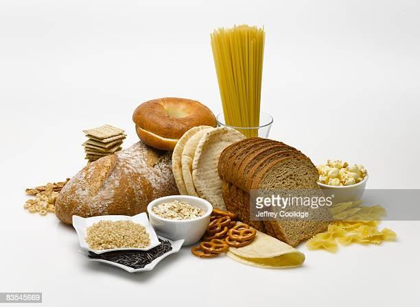 Grains food group still life