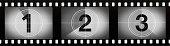 Grainy Film Frames Countdown