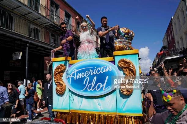 IDOL Grammy and Emmynominated musical artist Katy Perry country music superstar Luke Bryan and music icon Lionel Richie arrived in true New Orleans...