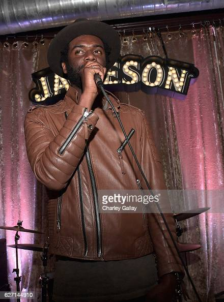 Grammy Award winner Gary Clark Jr celebrates the launch of Jameson Music with a special performance by HONEYHONEY at The Down Out on December 1 2016...