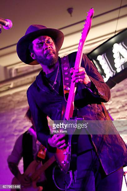 Grammy Award winner Gary Clark Jr performs celebrating the launch of Jameson Music with a special performance by Eve The Exiles at Trinity Hall on...