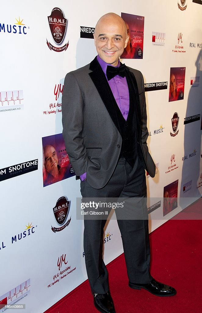 Grammy Award Winner Omar Akram attends his Album Release Party at House of Music & Entertainment on October 30, 2013 in Beverly Hills, California.