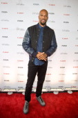 Grammy AwardWinning Musician and Noted Actor Common hosts Canon PIXMA PRO City Senses Gallery event at Ignite Glass Studios on October 1 2013 in...
