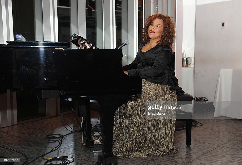 Grammy award-winning singer, songwriter <a gi-track='captionPersonalityLinkClicked' href=/galleries/search?phrase=Roberta+Flack&family=editorial&specificpeople=235444 ng-click='$event.stopPropagation()'>Roberta Flack</a> gives a special performance at the Women's Sports Foundation's 70th Birthday Party For Billie Jean King at the Museum of Art and Design on November 6, 2013 in New York City.