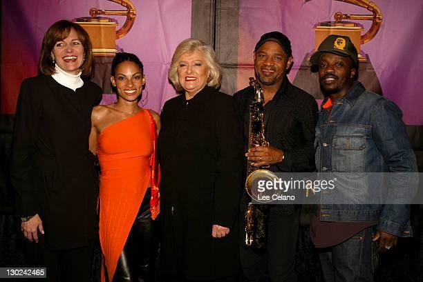 Grammy Senior Vice President for Foundations Kristen Madsen Goapele President CEO of BMI Frances Preston Kirk Whalum and Anthony Hamilton