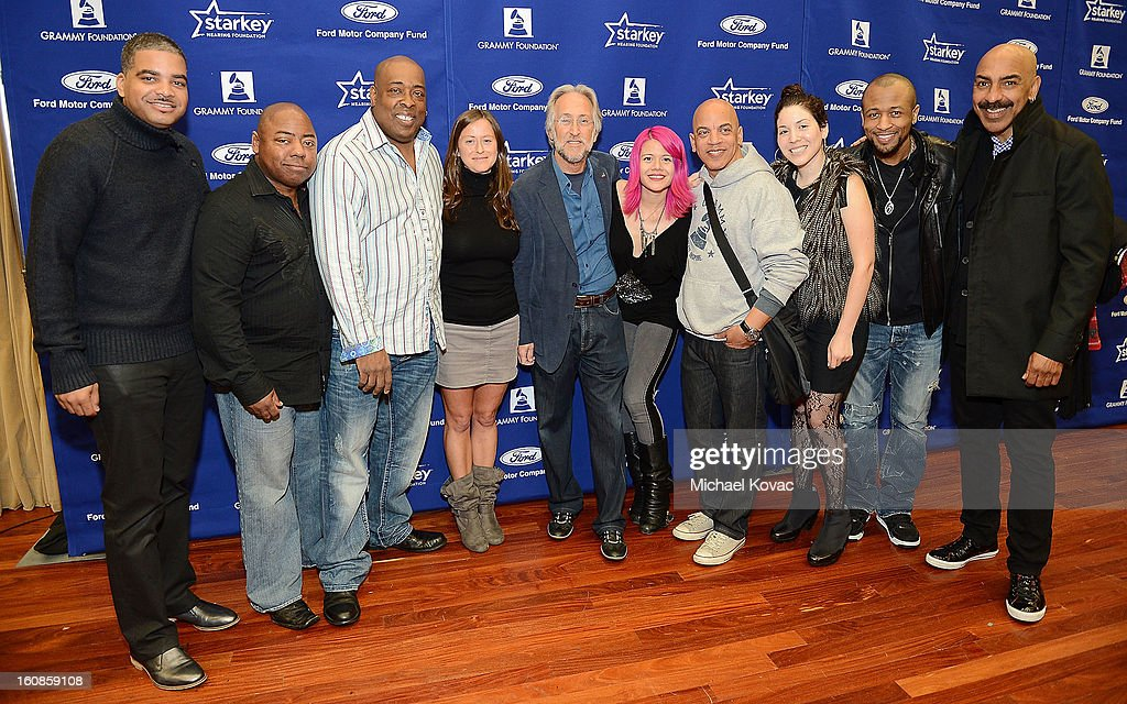 Grammy Staff, Artists and VIPs attend GRAMMY Camp Basic Training on February 6, 2013 in Los Angeles, California.