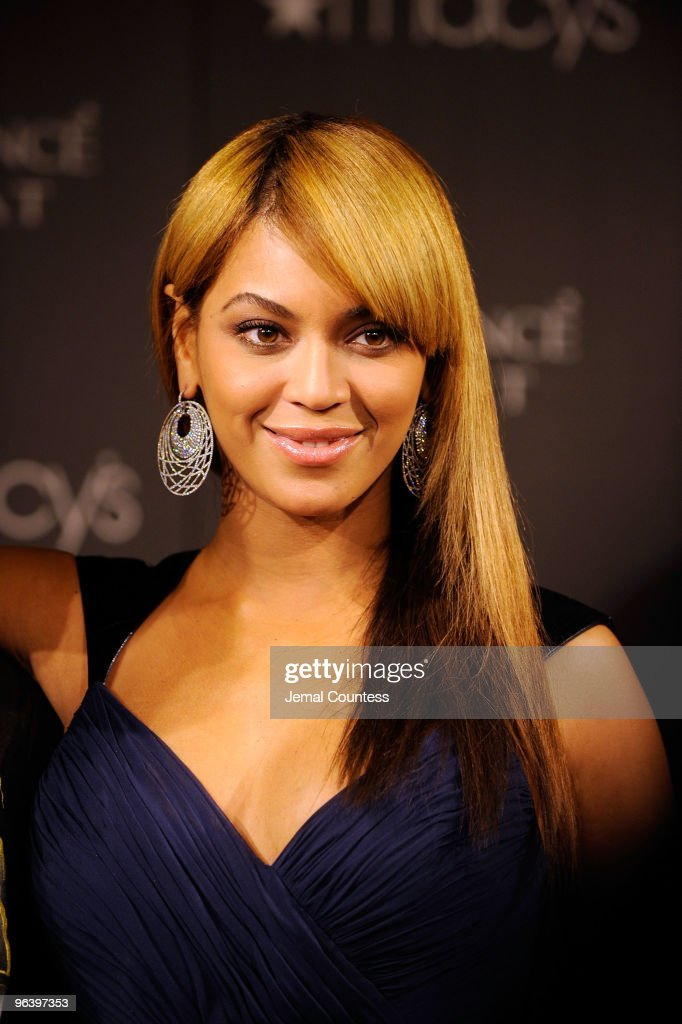 Grammy winning recording artist Beyonce launches her new fragrance 'Heat' at Macy's Herald Square on February 3, 2010 in New York City.