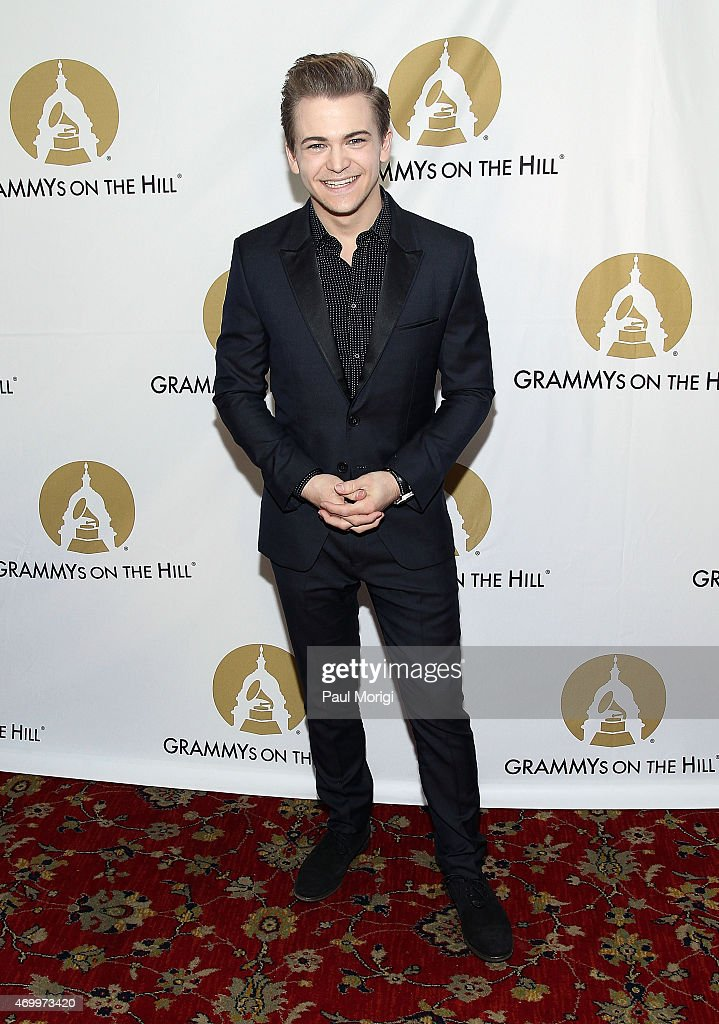 Nominee Hunter Hayes poses for a photo at the 2015 GRAMMYs ON THE HILL AWARDS at The Hamilton on April 15, 2015 in Washington, DC.