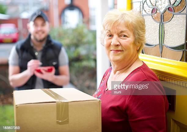 Gran pleased with her delivery