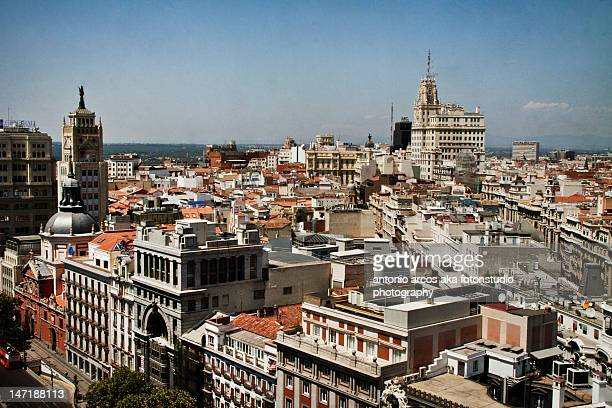 Gran Via ,Alcala roofs