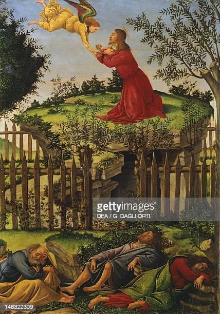 Granada Museo De La Capilla Real Prayer in the Garden 14901493 by Sandro Botticelli tempera on wood 53x35 cm