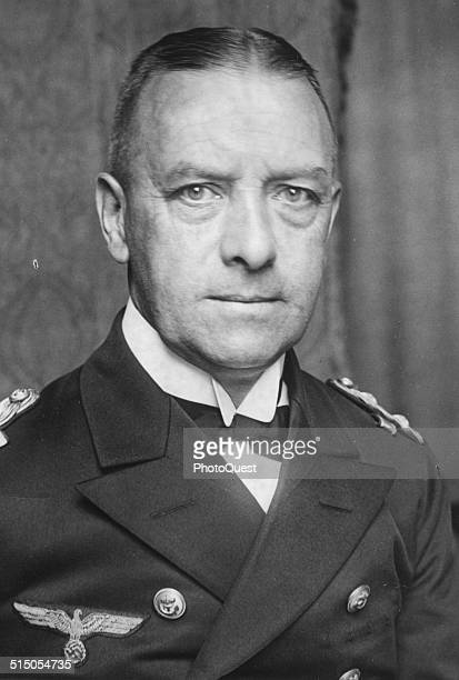 Grand Admiral Erich Albert Raeder was a Naval commander in Germany during World War II