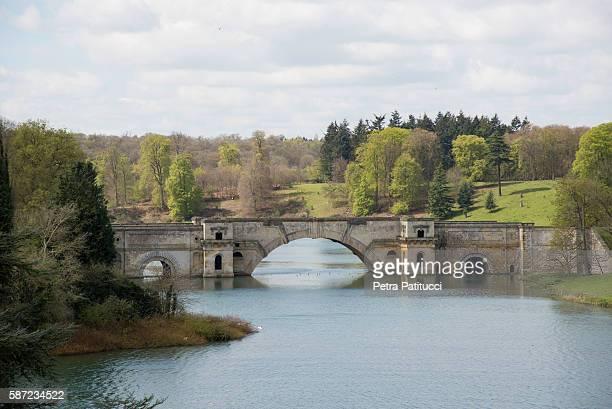 Grand Bridge in Blenheim Park