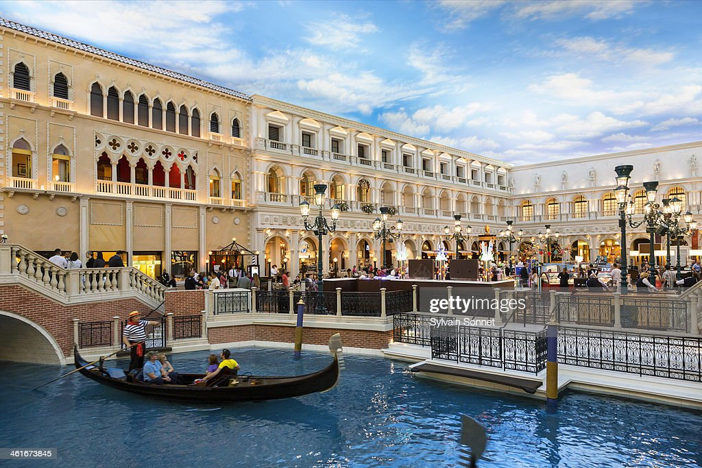 Grand Canal at the Venetian Hotel in Las Vegas, Ne