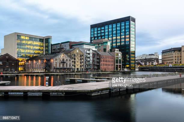 Grand canal basin, Dublin