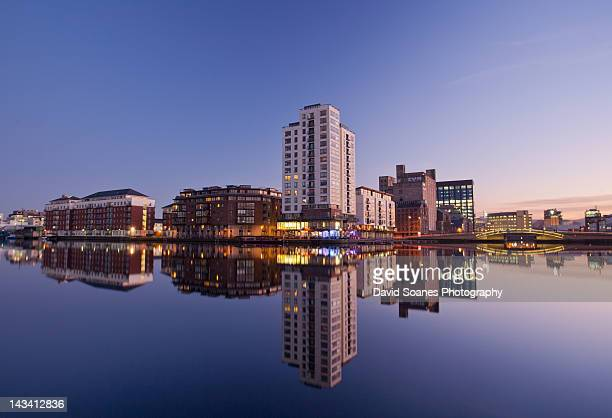 Grand canal square reflections
