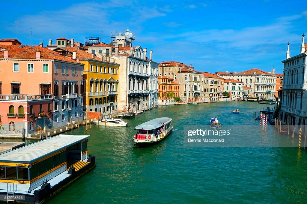 Grand Canal, Venice : Stock Photo