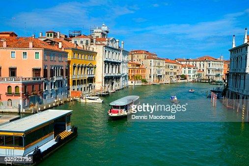 Grand Canal, Venice : Stock Photo