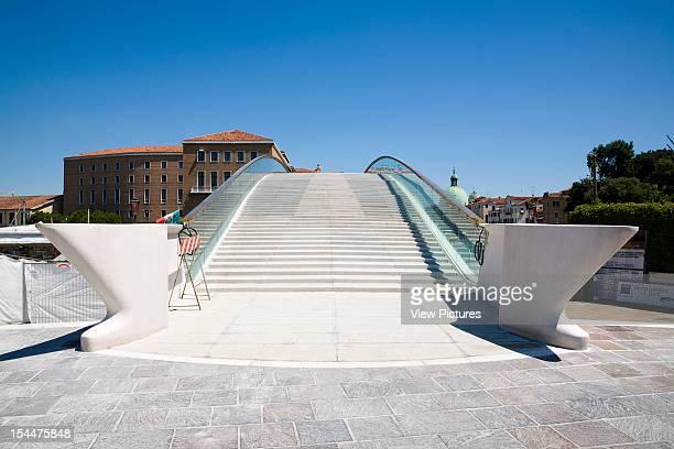 Grand CanalItaly Architect Venice Constitution Bridge Entrance To The Bridge