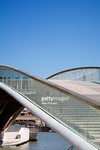 Grand CanalItaly Architect Venice Constitution Bridge Glass Balustrade
