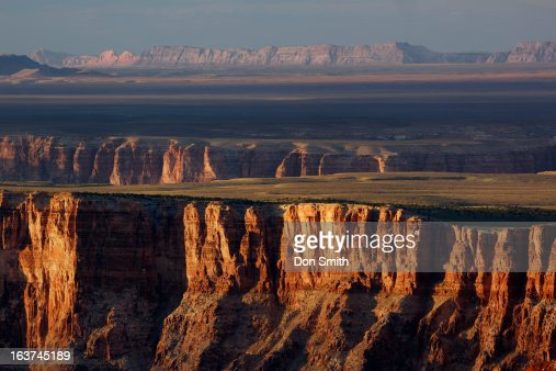 Grand Canyon and Little Grand Canyon : Stock Photo
