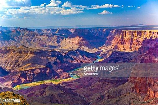 Grand canyon at sunrise : Stock Photo