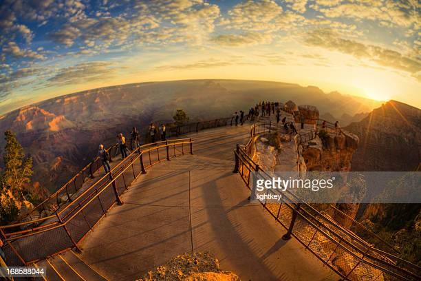 Grand Canyon at twilight