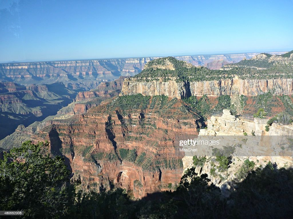 Grand Canyon North Rim : Foto de stock