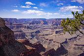 Grand canyon panorama landscape view  with calorado river  Arizona, USA