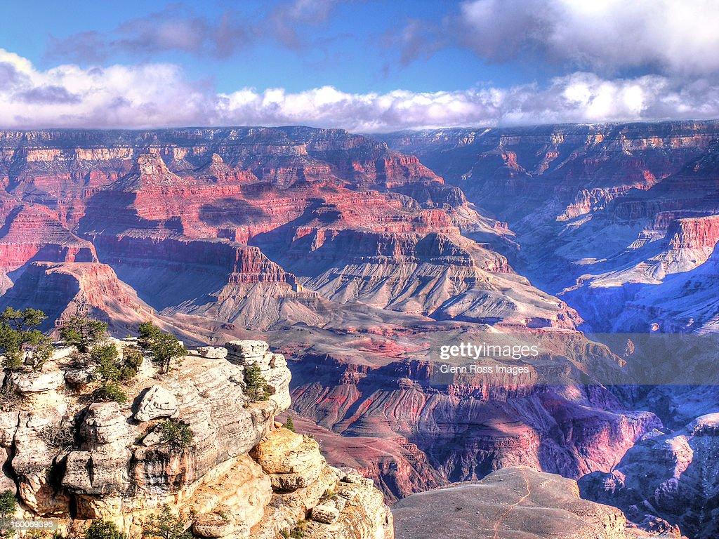 Grand Canyon South Rim : Stock Photo
