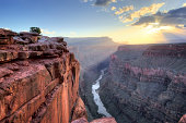 Toroweap Overlook on the north rim of the Grand Canyon National Park, Arizona.