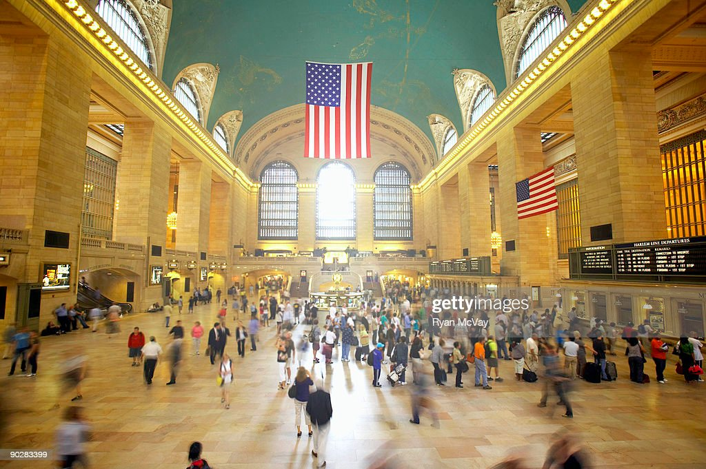 Grand central station new york city stock photo getty images for Grand tableau new york